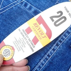 Plus size jeans size 20 fit and FLARE NWT